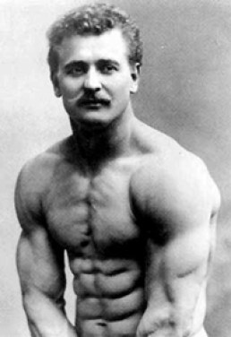 Picture of old time strong man Eugen Sandow