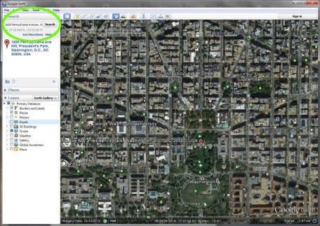 google earth running 5k