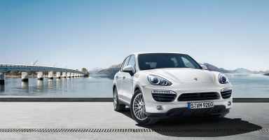 Porsche Cayenne Hybrid Electric Vehicle