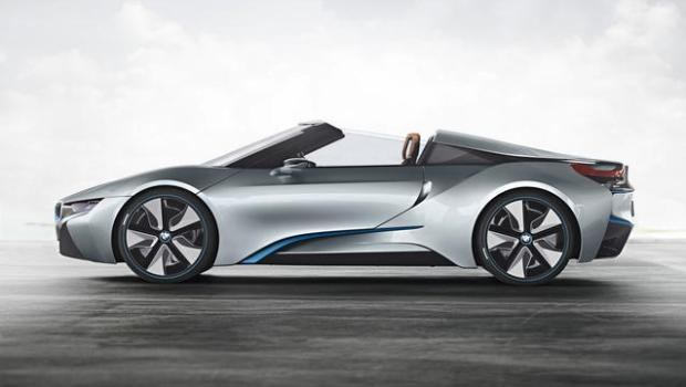 bmw i8 roadster side light