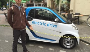 electric smart car charging netherlands