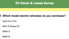 electric car survey