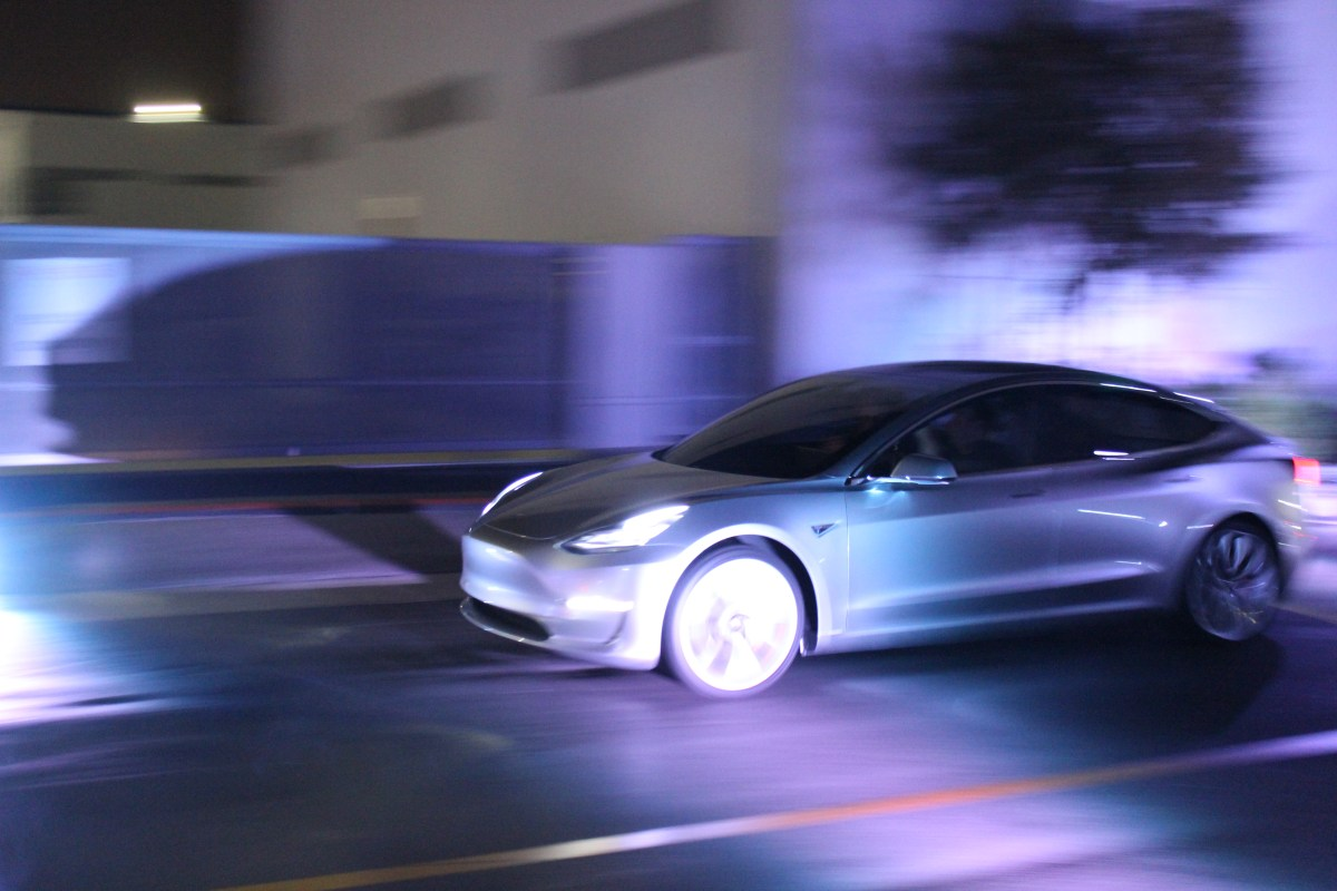 Tesla Model 3 Design Nearly Done