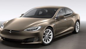 Tesla Model S new nose