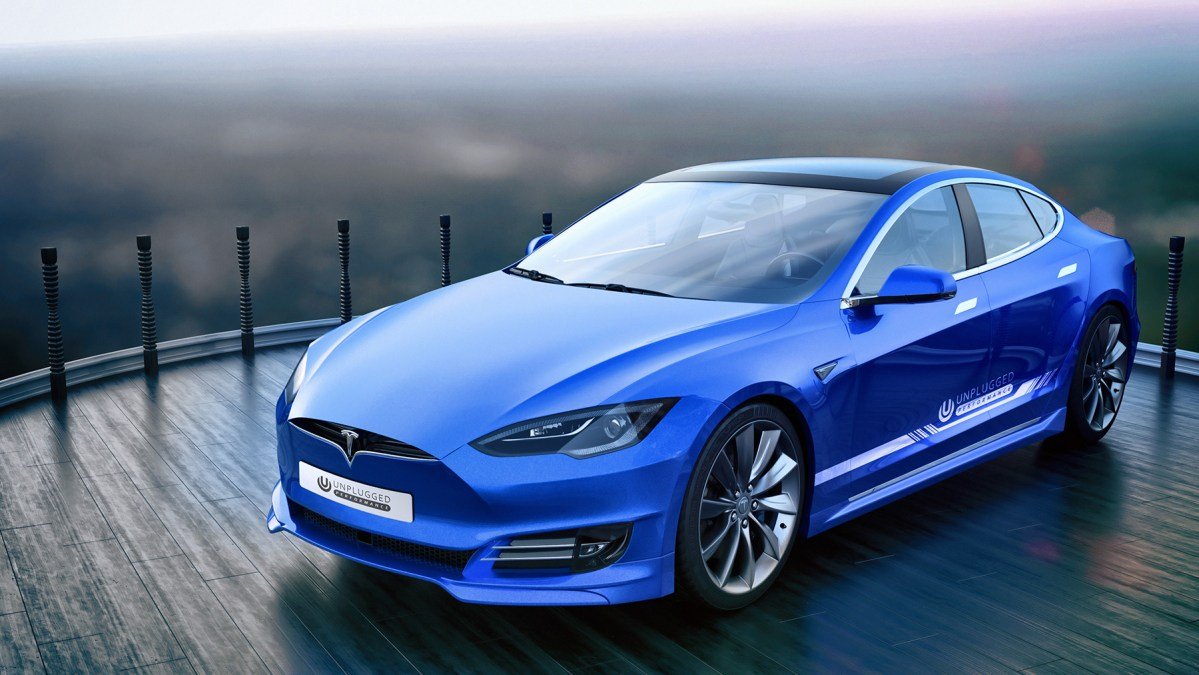 "Unplugged Performance's Comprehensive Refresh For ""Old"" Tesla Model S Is Hot"