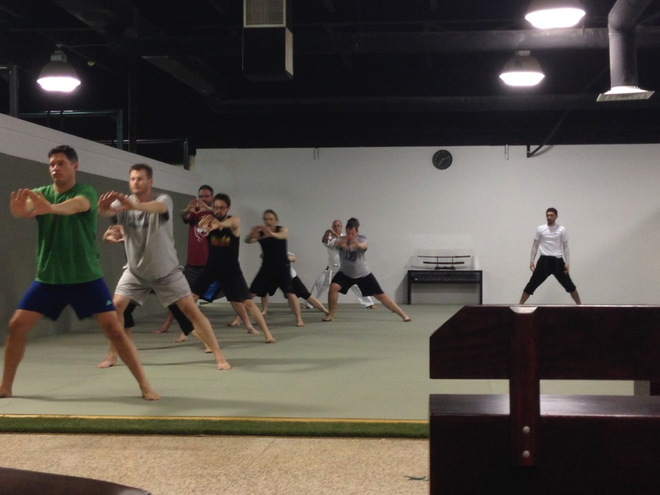 lateral lunge - Evolve All martial arts training center
