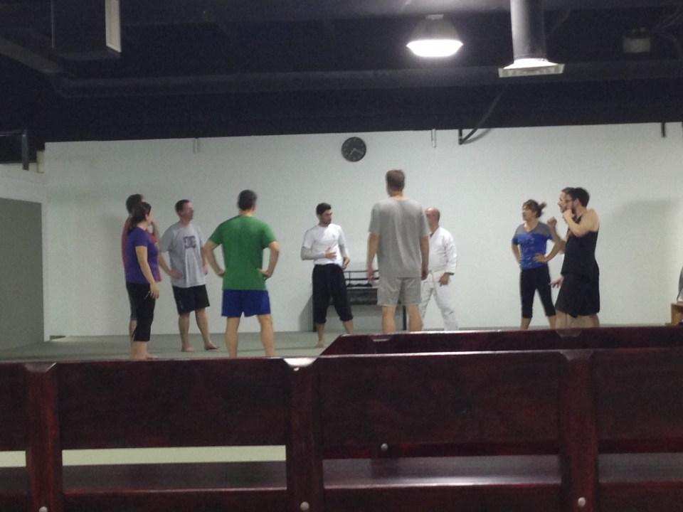 Circle up - Evolve All martial arts training center