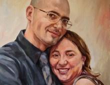 Ritratto di una coppia felice