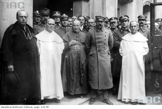 Marszałek Józef Piłsudski na Jasnej Górze