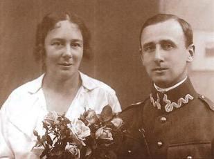 Fotografia ślubna Zofii i Zygmunta Szatkowskich