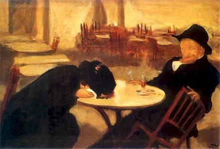 Wojciech Weiss - W kawiarni