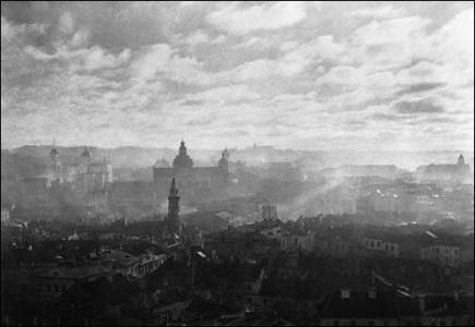 Jan Bułhak - Panorama Wilna 1916