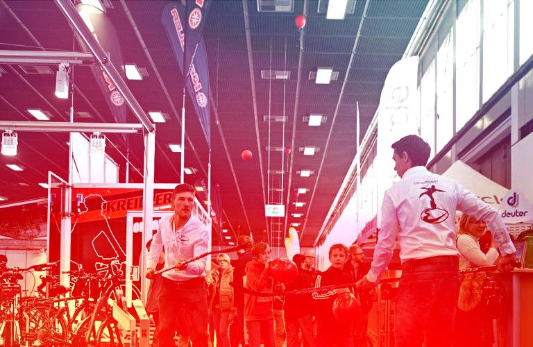 Mit Ewheels Hockey auf der Velo Berlin und viel mehr