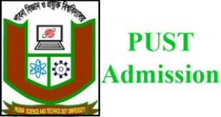 pabna university science technology admission circular
