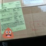 #Yesterday I got a #package via @auspost from #Japan.  Finally my #Poophat made with love by @texan_in_tokyo has arrived! #MailfromJapan #ParcelDelivery #Awesome #Youtube #Injoke