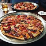 #Meeting the #allmeatpizza otherwise known as #MeatyMeatMeat #Pizza @pjoreillystuggeranong  @chef_mattwalker we would have gone for a rich #IrishStew in this #cold #snowy day but the #Meat on #meat with accents of #meat worked #nice. #Bacon #Chorizo #Steak #Salami #BBQSauce  #ediblecbr #instagood #instafood #instafoodie #notvegan #notvegetarian #Tuggeranong #SpecialBoard #Pubgrub #InstaPizza #Pizzagram