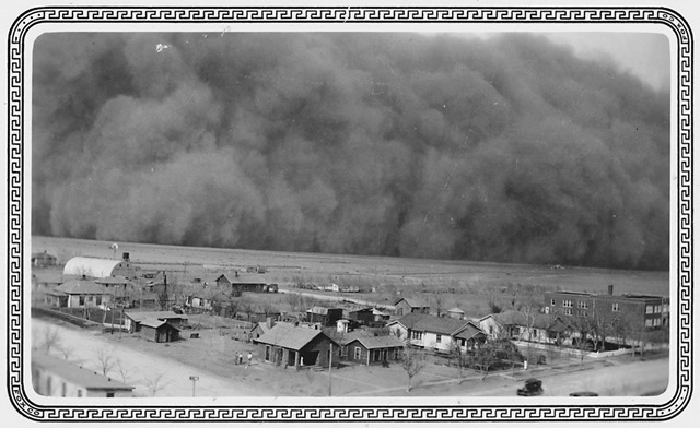 Dust Storm in Rolla, Kansas; May 6, 1935