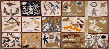 Harriet Powers - Pictorial quilt