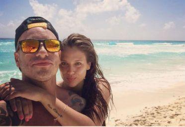 Federico Bal y Barbie Velez Cancun