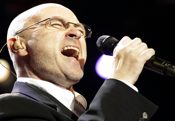 Phil Collins (2): El cantante