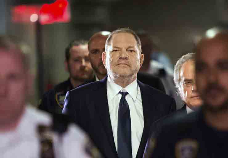 Harvey Weinstein se declara inocente de abuso sexual