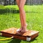 Outdoor Lawn Garden Beach Shower