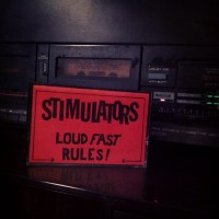 Finally hooked my tape player up after 3 years. First tape is The Stimulators Loud Fast Rules! ROIR Cassette.
