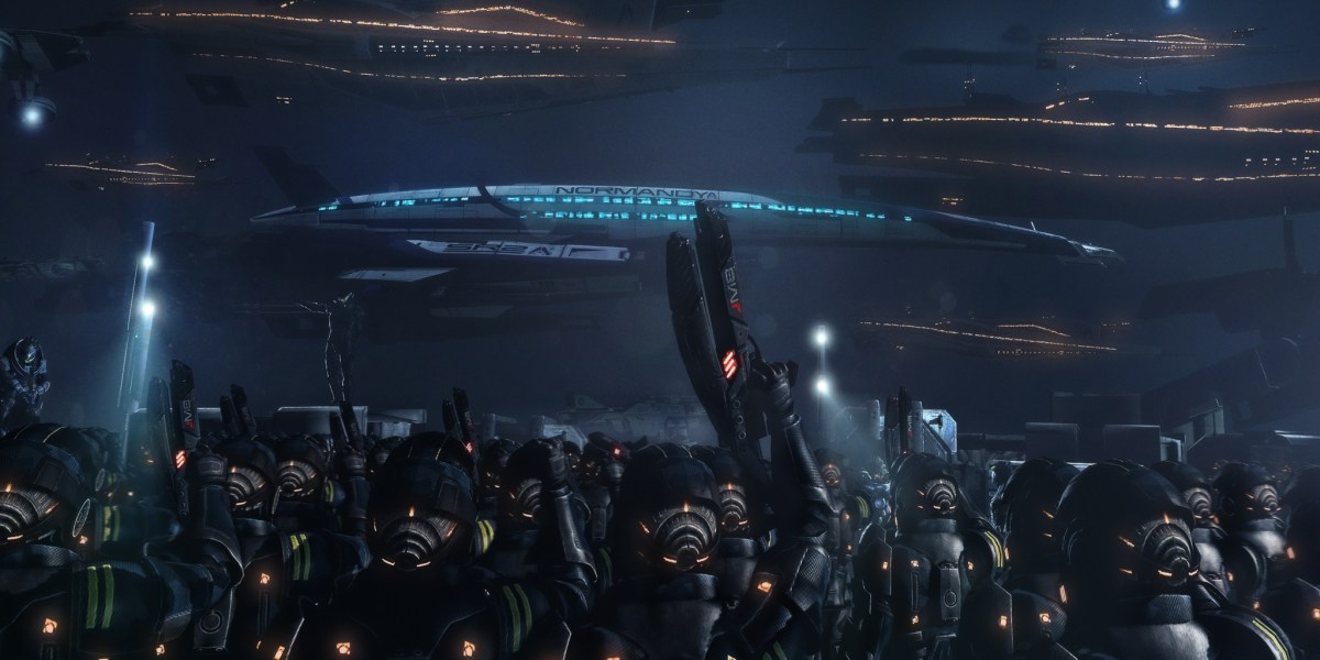 Next-Gen Mass Effect Trilogy Listing Spotted