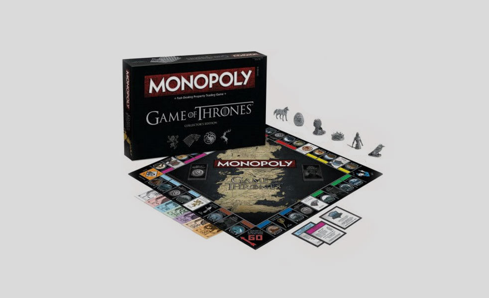 Game of Thrones Monopoly Overview