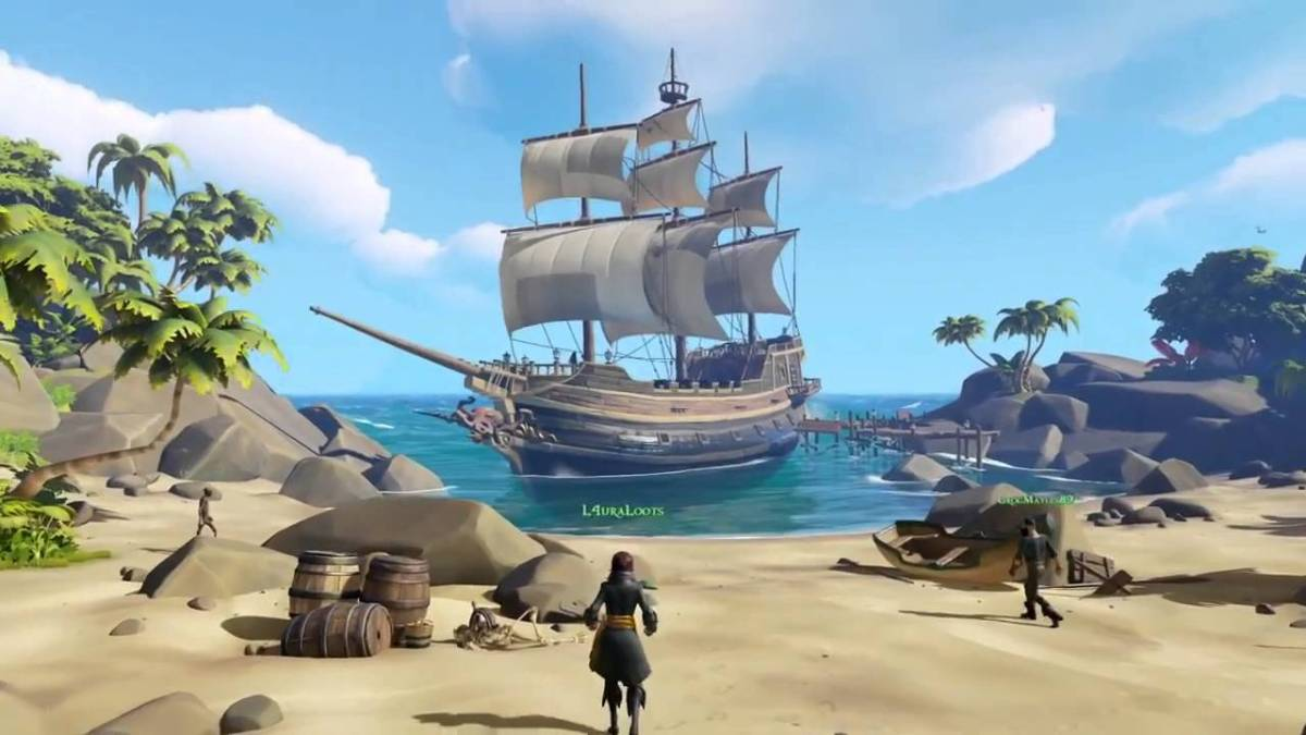 Sea of Thieves is on the way