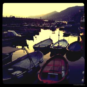 Camogli port