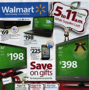 Wal-Mart Black Friday Deals