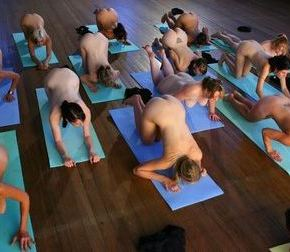Nude yoga: Now available in Toronto