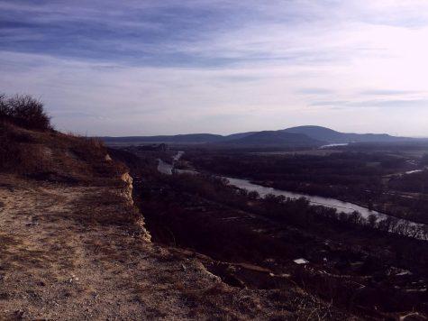 View to Devín from Sandberg