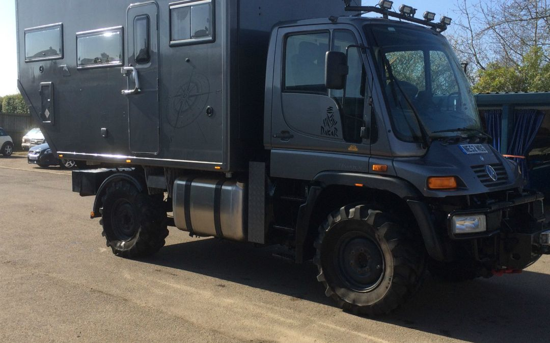 Unimog expedition vehicle fully kitted out uk 163 80 000ono