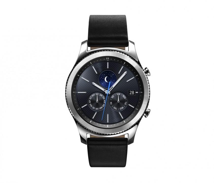Самсунг начала принимать заказы наумные часы Gear S3