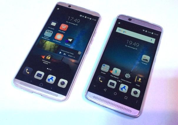 ZTE Axon 7 и Axon 7 mini