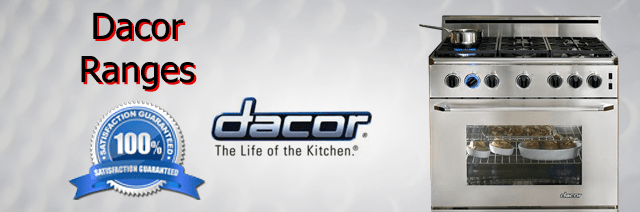 Dacor Range Repair Pasadena Authorized Service
