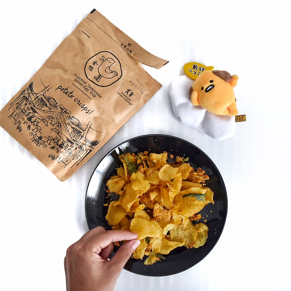 how to make salted egg chips