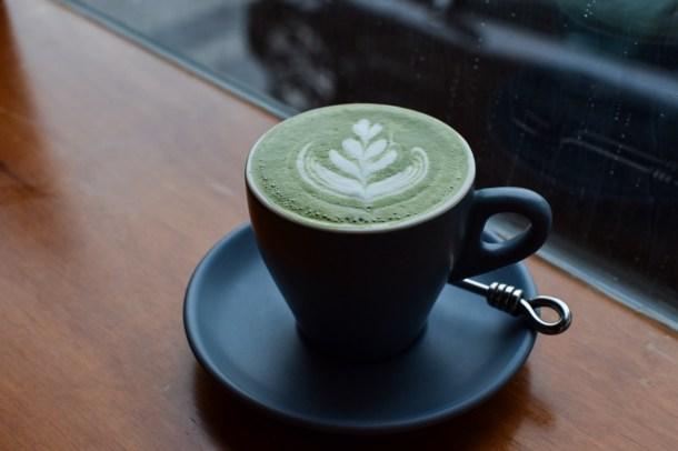 Matcha Latte ($6)