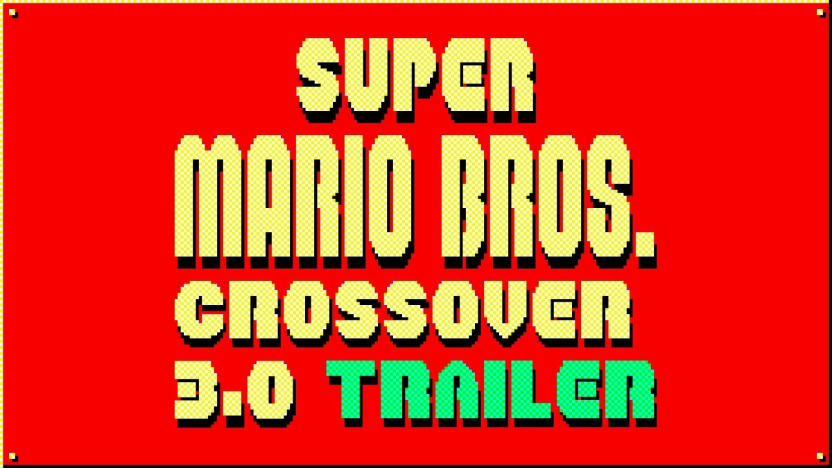 Super Mario Bros. Crossover 3.0 Trailer