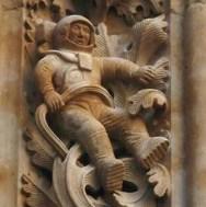 Astronauta viajero del tiempo