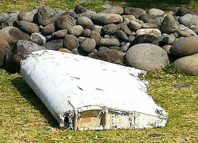 El resto parece ser un alerón. Sin embargo, habrá que cotejar códigos para confirmar que es parte del Boeing 777 de Malaysian Airlines que desapareció en marzo de 2014 sin dejar rastro.