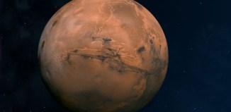 Un descubrimiento inexplicable en Marte. Crédito: NASA