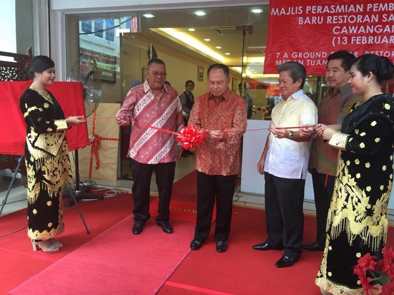 Bapak Marsekal TNI Purn Herman Prayitno rasmi