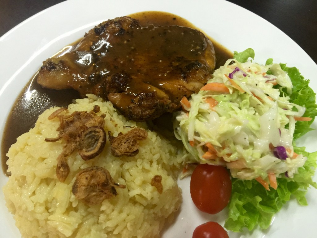 Grill Chicken Chop With Rice RM13.00
