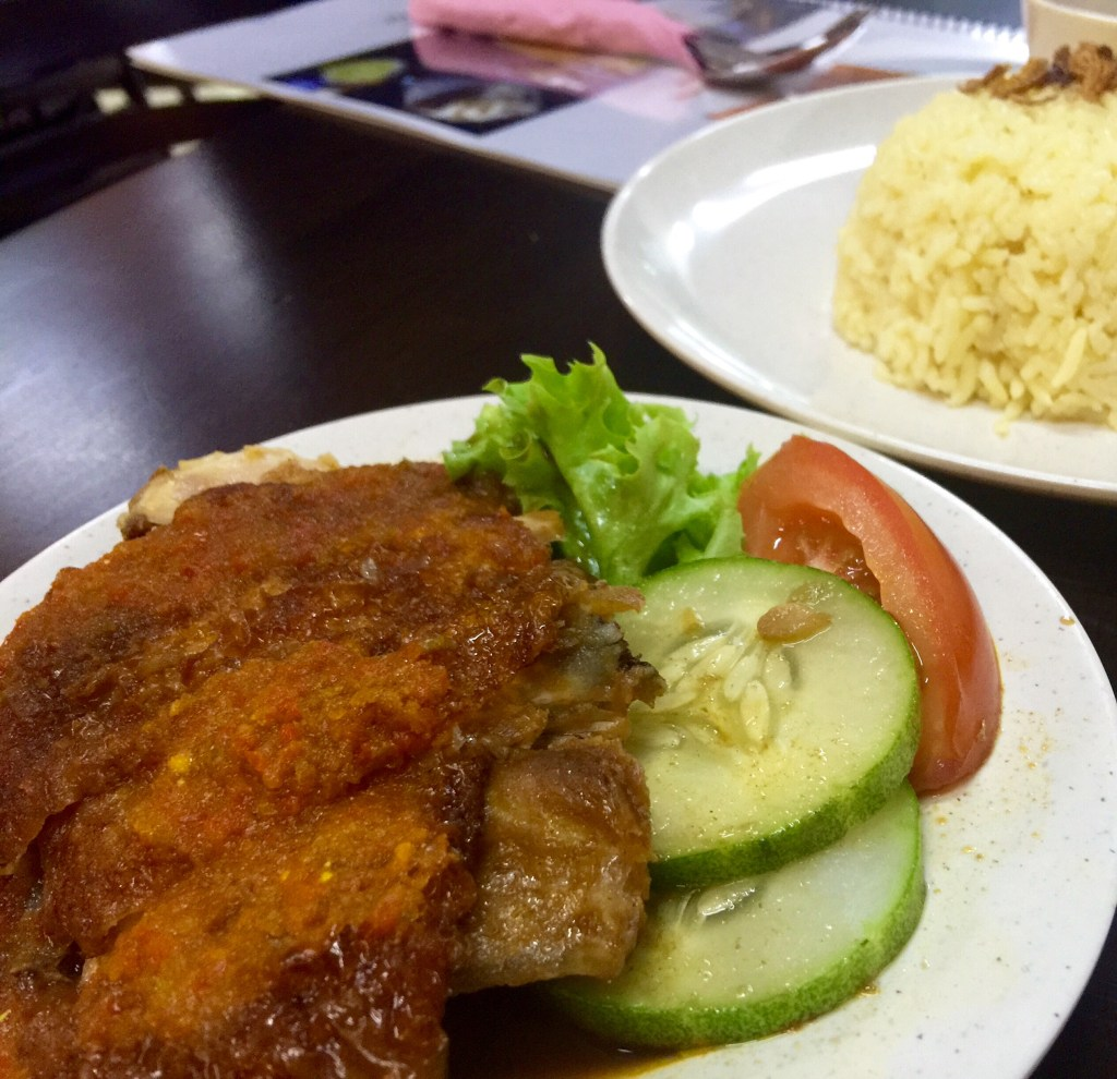 Nasi Ayam dan Ayam Merah RM8.00