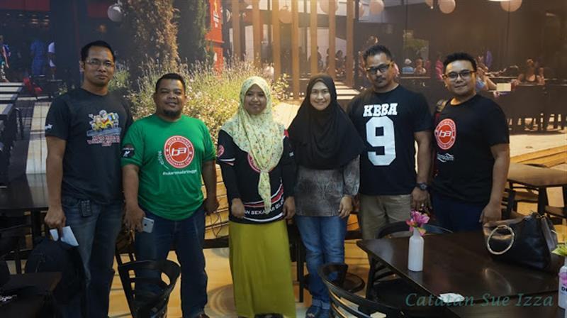 Antara blogger yang hadir