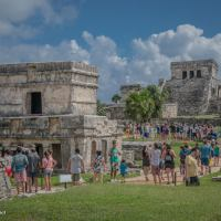 Touring the Mayan Ruins at Tulum