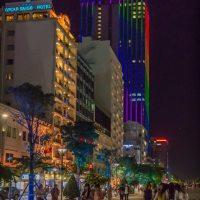 Evening in Saigon, Vietnam